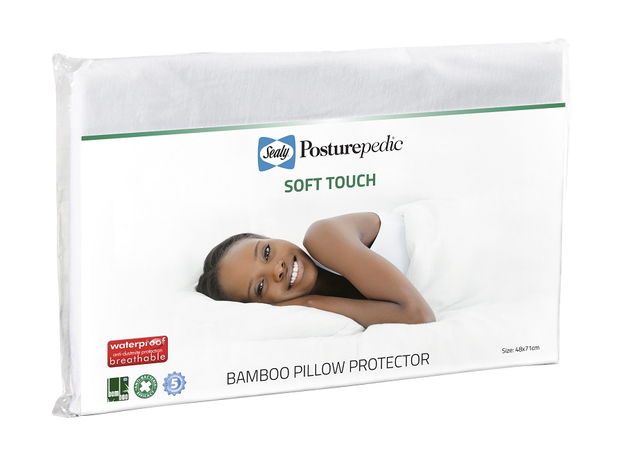 Soft Touch Bamboo Pillow Protector Sealy