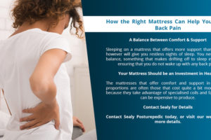 How the Right Mattress Can Help You Avoid Back Pain