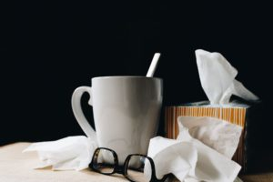Sleep better with a cold or flu